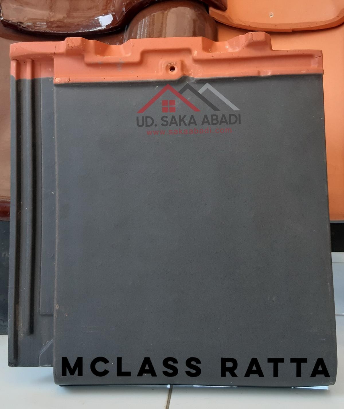 genteng flat mclass ratta